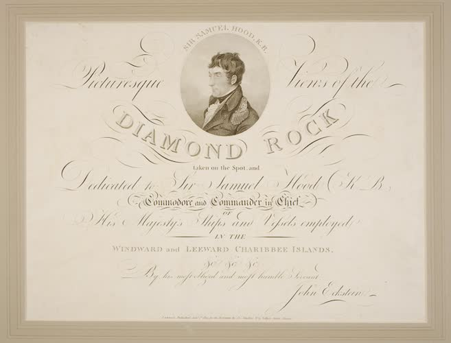 Picturesque Views of the Diamond Rock (1805)