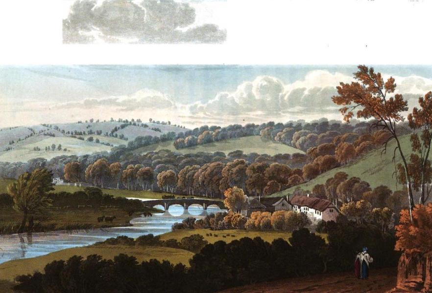Picturesque Views on the River Exe - View of Bickleigh (1819)