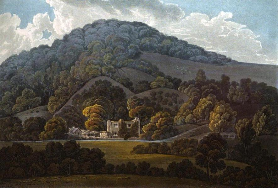 Picturesque Views on the River Exe - Bickleigh Court Castle taken from the New Road (1819)