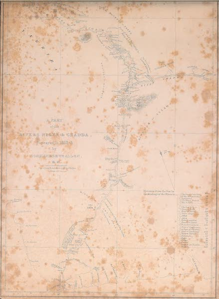 Picturesque Views on the River Niger - A Part of the River Niger & Chadda. Surveyed in 1832-3 (1840)