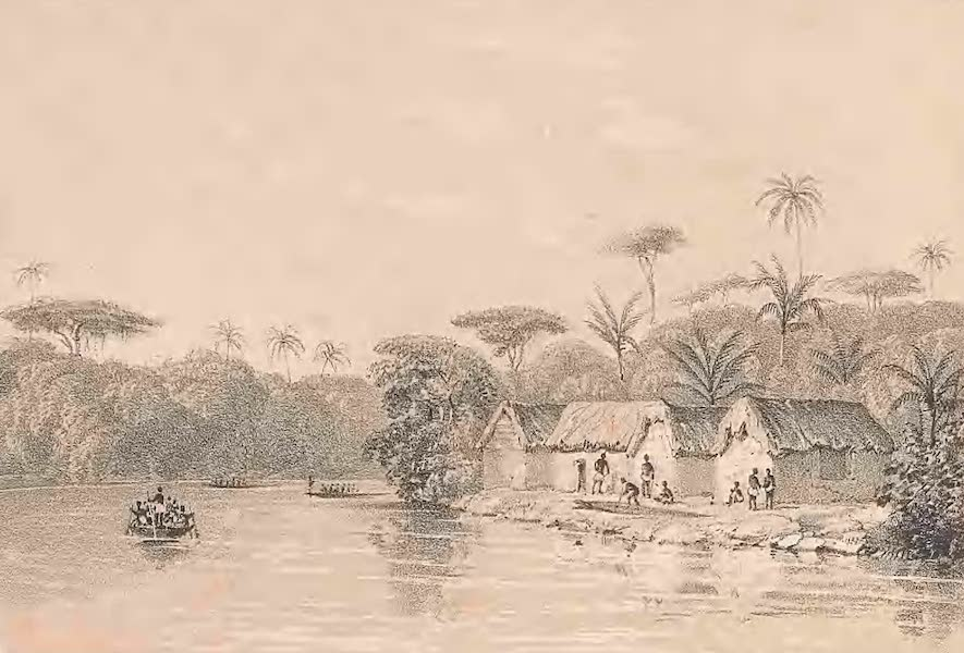 Picturesque Views on the River Niger - Views on the Nun Branch of the River Niger [II] (1840)