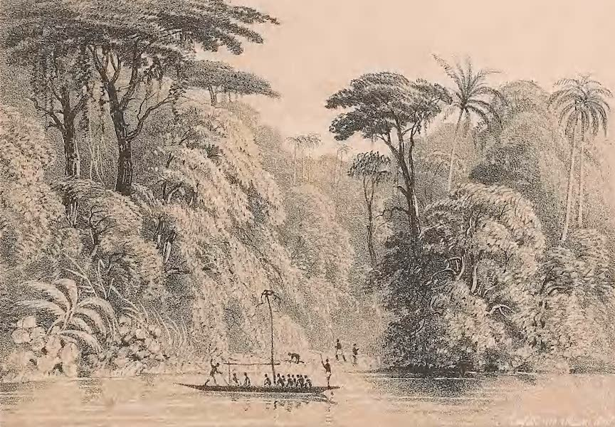 Picturesque Views on the River Niger - Views on the Nun Branch of the River Niger [III] (1840)