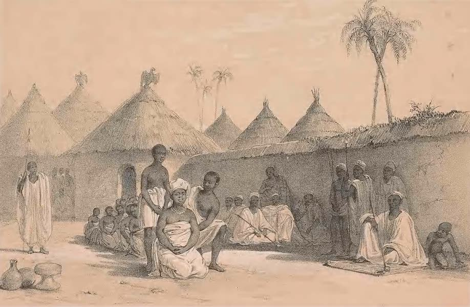 Picturesque Views on the River Niger - The Morning Call (1840)