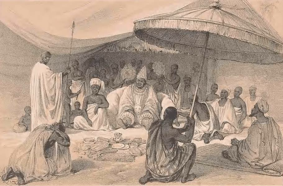 Picturesque Views on the River Niger - Attah (1840)