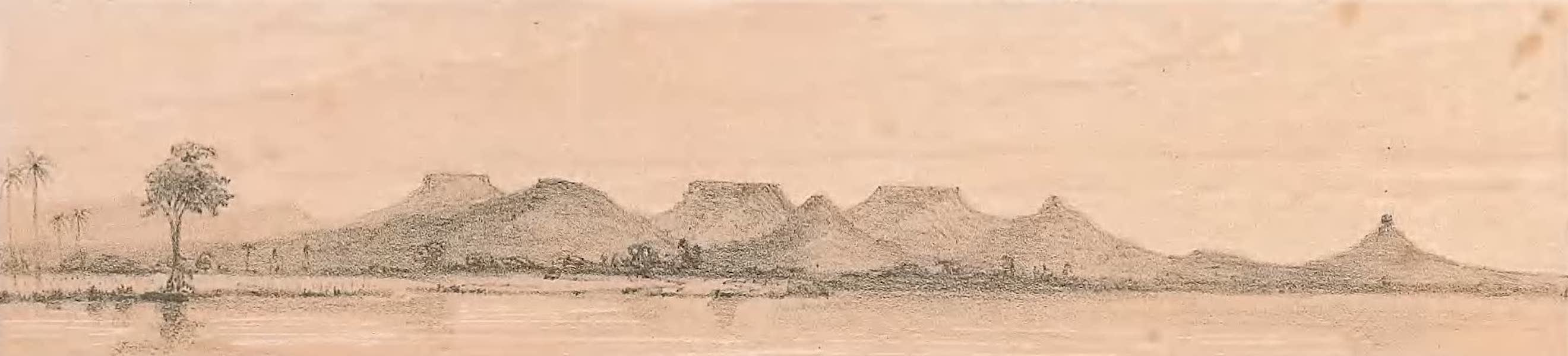 Picturesque Views on the River Niger - The Rennell Mountains (1840)