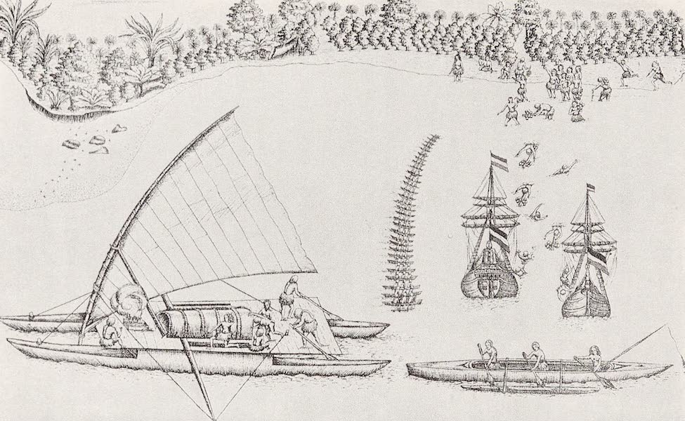 The Two Dutch Ships Under Tasman's Command