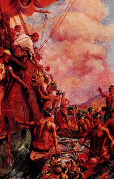 Captain Cooks Arrival at Tahiti 1769