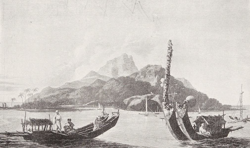 Pioneers in Australasia - The Island of Tahiti and its Extraordinary Double Canoes as Seen By Captain Cook (1912)