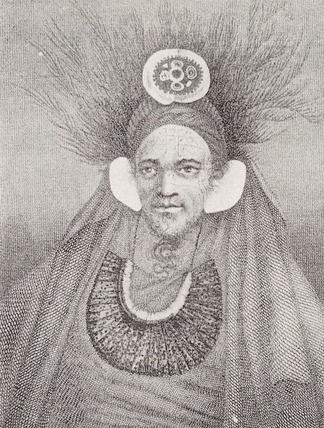 A Chief at St. Christina in the Marquez as Archipelago