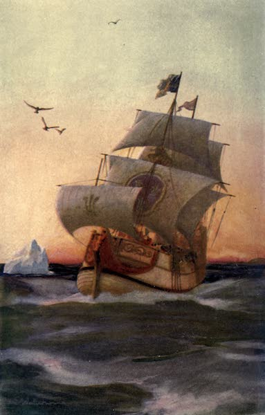 Pioneers in Canada - Type of Ship Sailed in by the English or French Pioneers in the Sixteenth Century (1912)