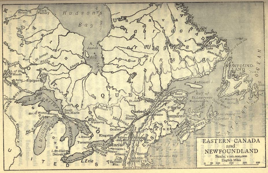 Pioneers in Canada - Eastern Canada and Newfoundland (1912)