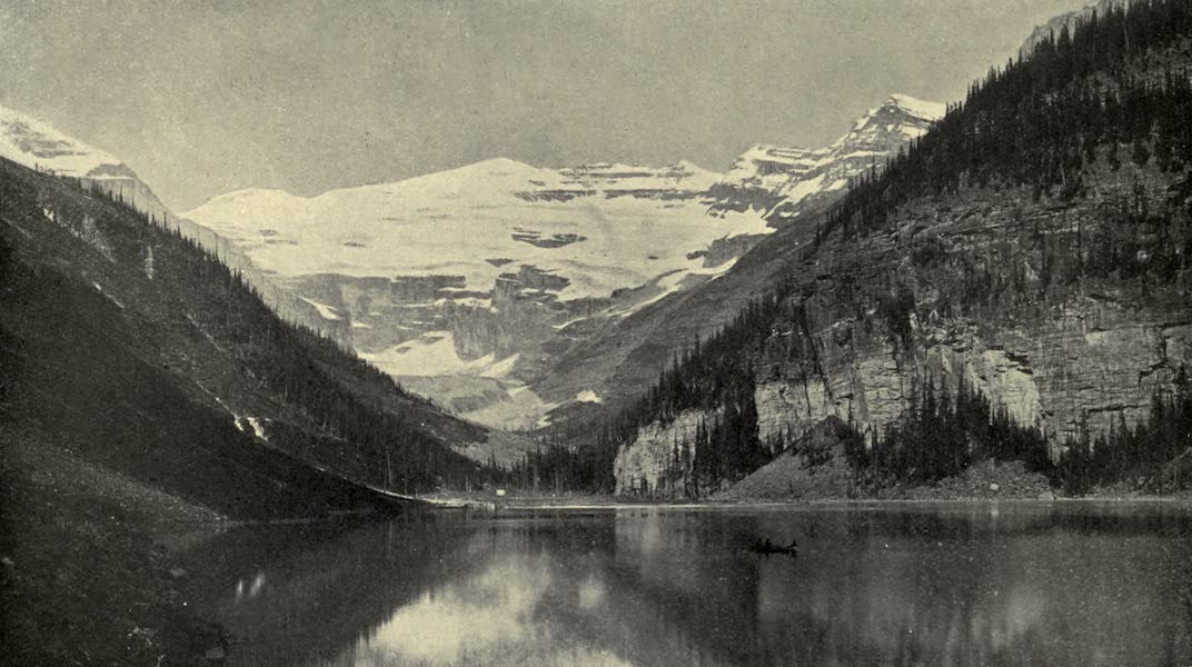 Pioneers in Canada - Lake Louise the Rocky Mountains (1912)