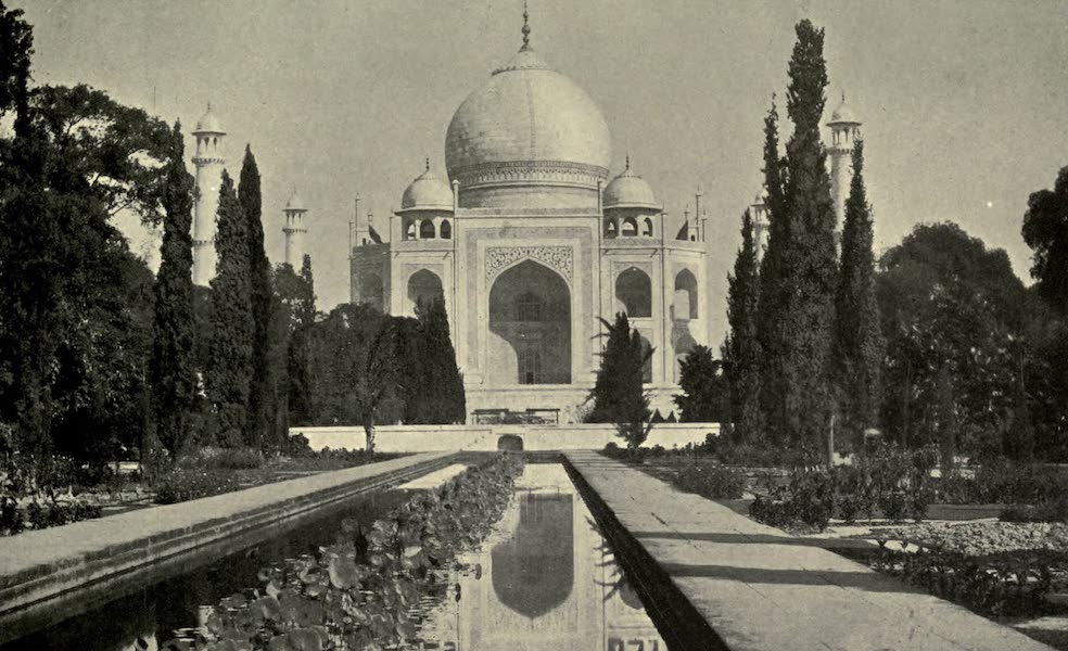 Pioneers in India - The Taj Mahal Agra (1913)