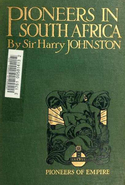 Pioneers in South Africa - Front Cover (1914)