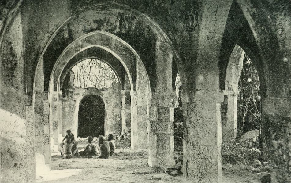 Pioneers in South Africa - Ruins of the Great Mosque at Kilwa (1914)