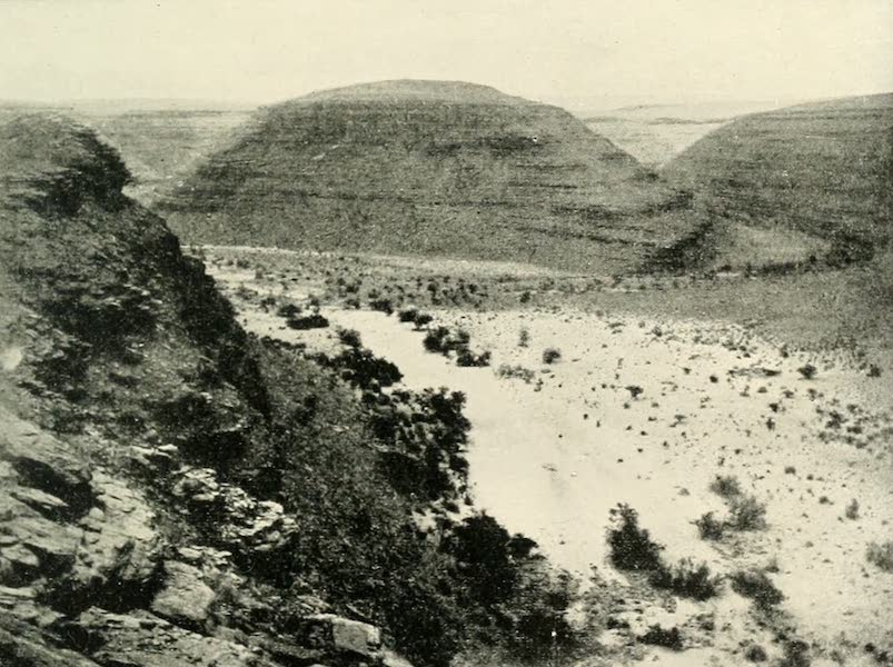 Pioneers in South Africa - The Dry Bed of a Once Powerful River in Namakwaland (1914)