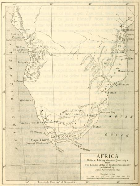Pioneers in South Africa - Africa Before Livingstone's Journeys (1914)