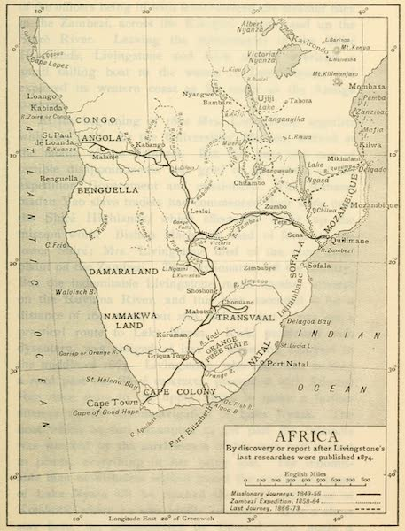 Pioneers in South Africa - Africa By Discovery or Report After Livingstone's Last Researches Were Published - 1874 (1914)