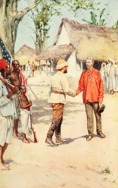 Pioneers in South Africa - Livingstone and Stanley at Ujiji (1914)