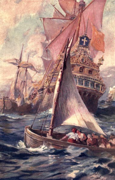 Pioneers in Tropical America - An Attack on a Spanish Galleon (1914)