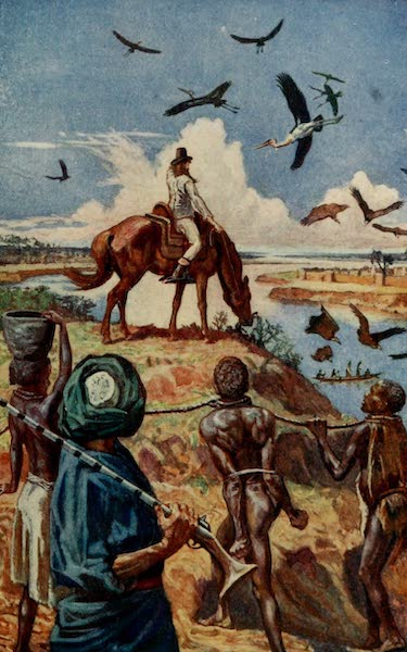 Pioneers in West Africa - Mungo Park's First Sight of the Niger at Sego - 1796 (1912)