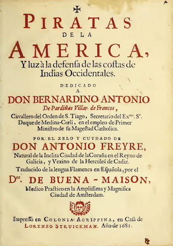 Library of Congress - Piratas de la America