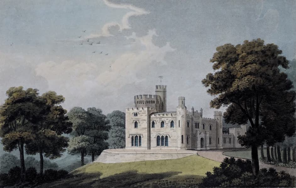 Plans and Views of Ornamental Domestic Buildings - Balloch Castle, Dumbartonshire [South-East View] (1836)
