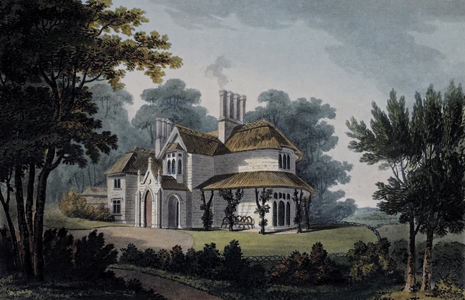 Plans and Views of Ornamental Domestic Buildings - Rose Hill Cottage, Near Henley upon Thames (1836)