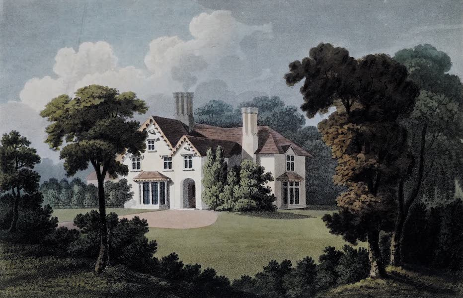 Plans and Views of Ornamental Domestic Buildings - Cottage at Holder's Hill, near Hendon, Middlesex (1836)