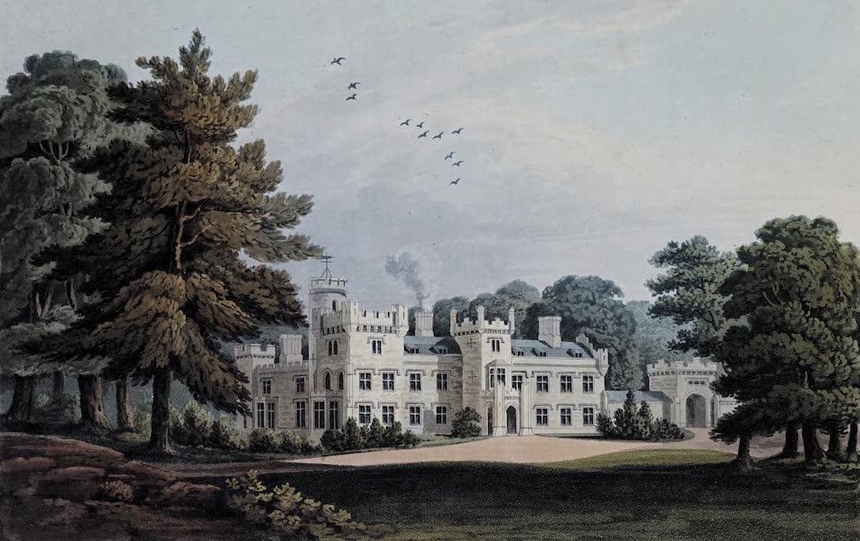 Plans and Views of Ornamental Domestic Buildings - Weddington Hall, Warwickshire (1836)