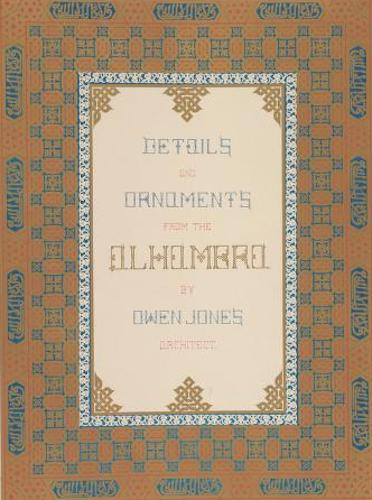 Chromolithography - Plans, Elevations, Sections, and Details of the Alhambra Vol. 2