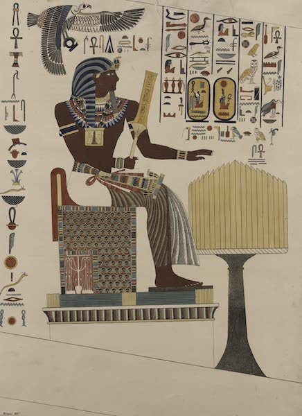 Plates Illustrative of the Researches and Operations of G. Belzoni - From the kings tombs in Thebes (1820)