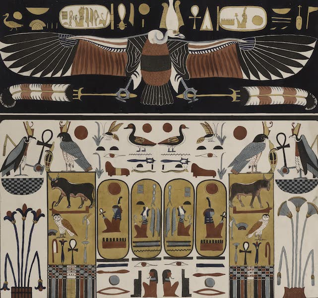 Plates Illustrative of the Researches and Operations of G. Belzoni - From the tombs of the kings at Thebes (1820)
