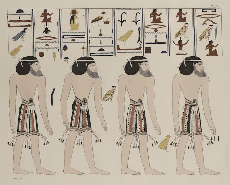 Plates Illustrative of the Researches and Operations of G. Belzoni - From the tombs of the kings at Thebes, discovered by G. Belzoni (1820)