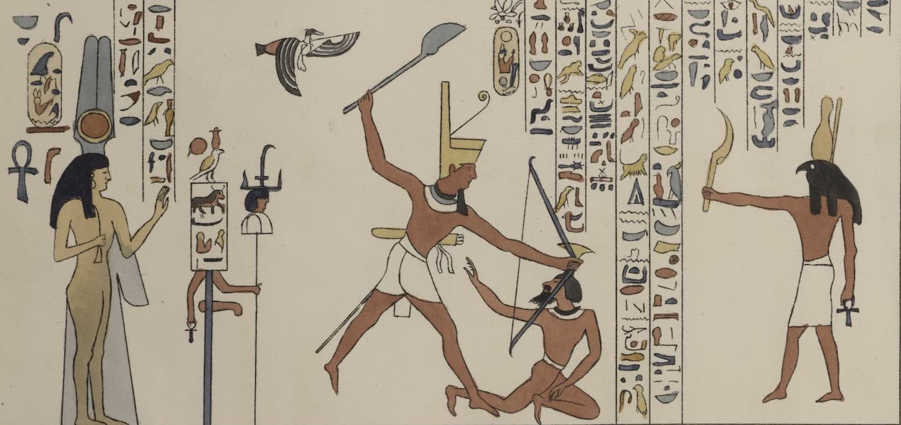 Plates Illustrative of the Researches and Operations of G. Belzoni - From the Great temple of Ybsambul in Nubia (1820)