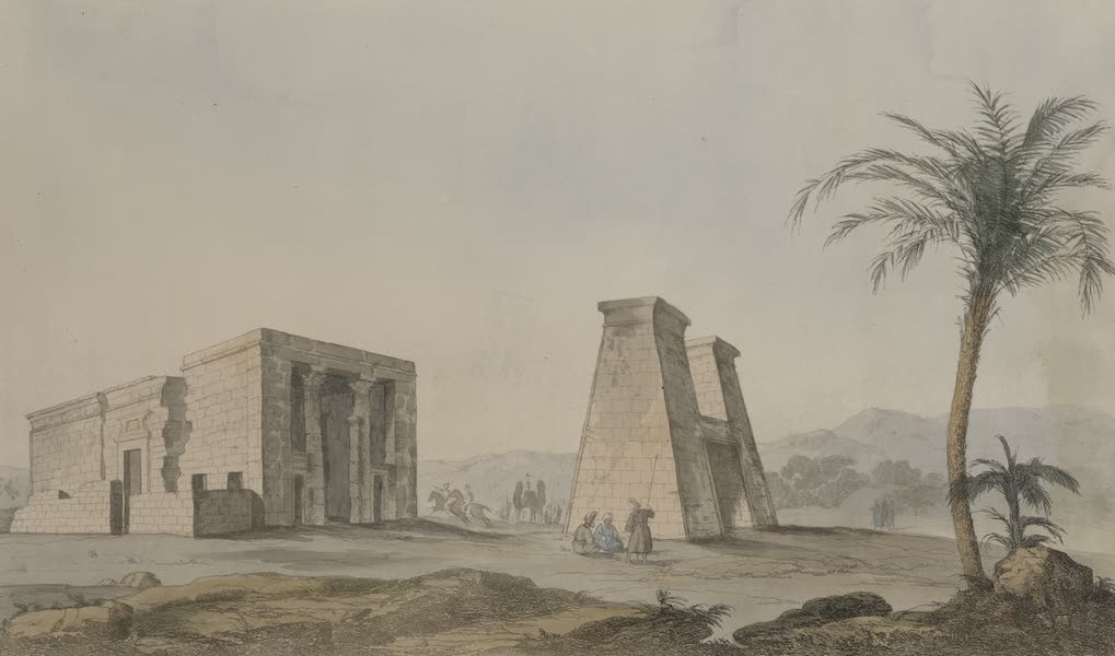 Plates Illustrative of the Researches and Operations of G. Belzoni - Temple of Dakke in Nubia (1820)