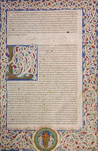 Natural History - Plinius Secundus Naturalis Historiae