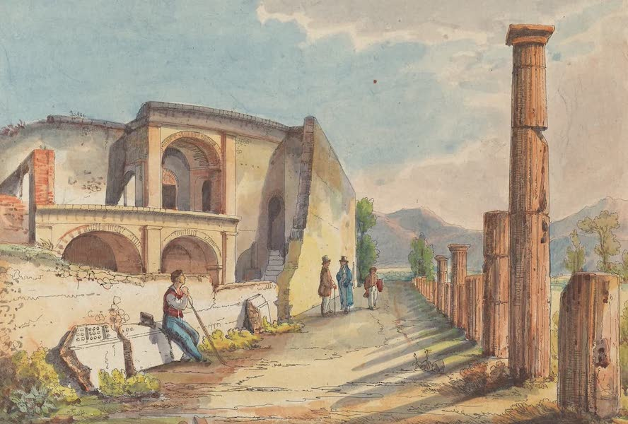 Pompei - View 13 (1840)