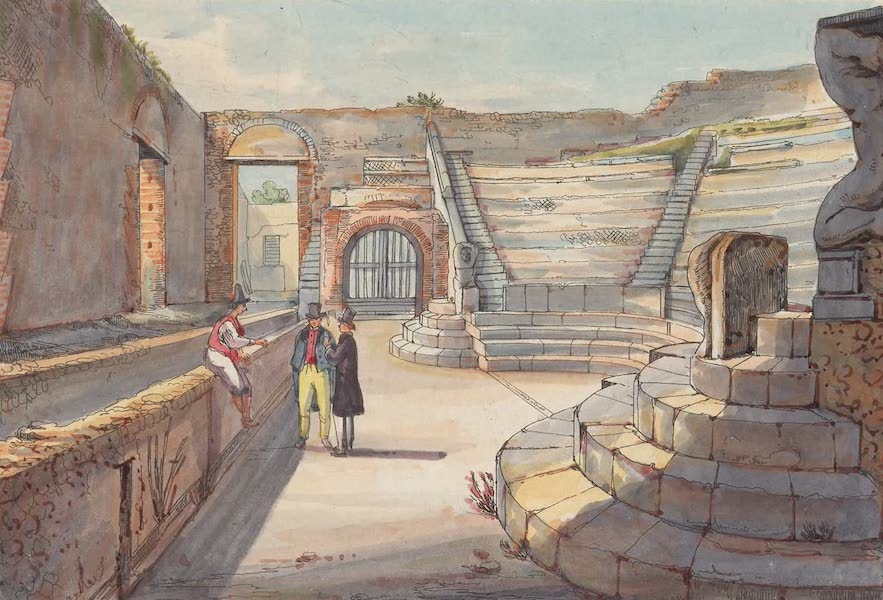Pompei - View 25 (1840)