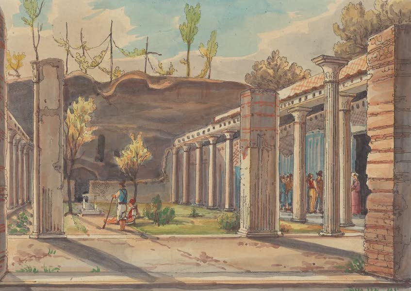 Pompei - View 31 (1840)