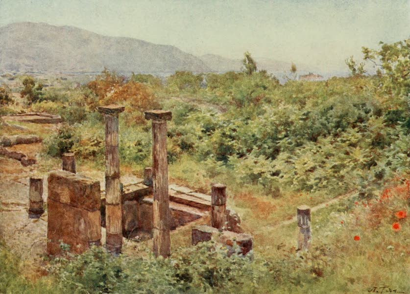 View from Pompeii
