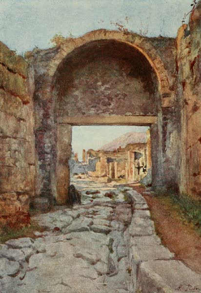 Pompeii, Painted and Described - The Stabian Gate (1910)