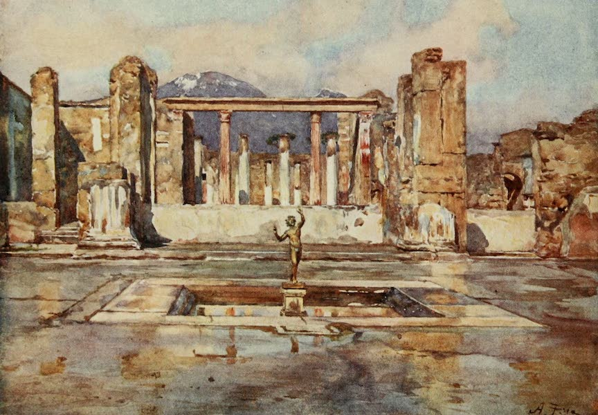Pompeii, Painted and Described - The House of the Faun (1910)