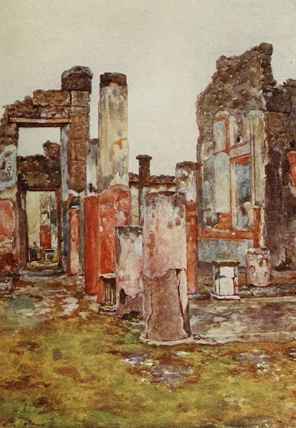 Pompeii, Painted and Described - House of Castor and Pollux (1910)