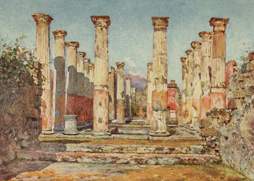Pompeii, Painted and Described - House of Ariadne (1910)