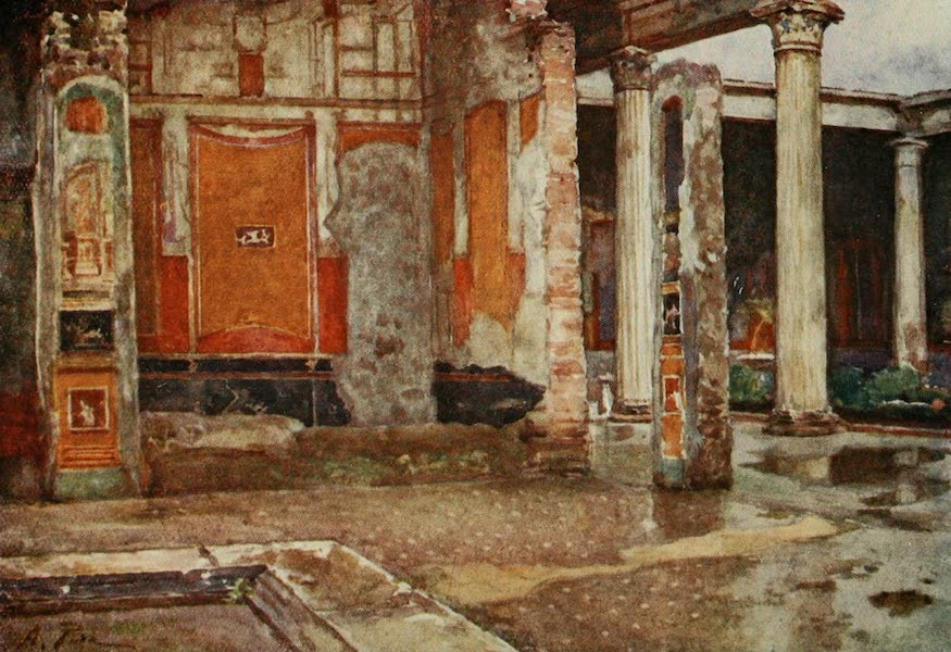 Pompeii, Painted and Described - House of the Vettii (1910)