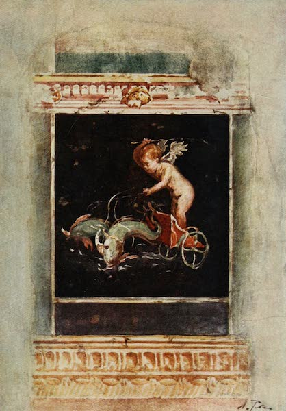 Pompeii, Painted and Described - Decorative Panel Picture (1910)
