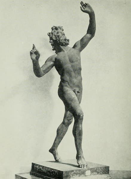 Pompeii, Painted and Described - The Dancing Faun or Satyr (1910)