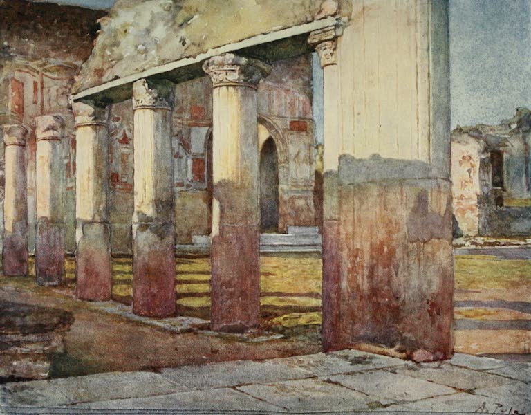 Pompeii, Painted and Described - The Stabian Baths (1910)