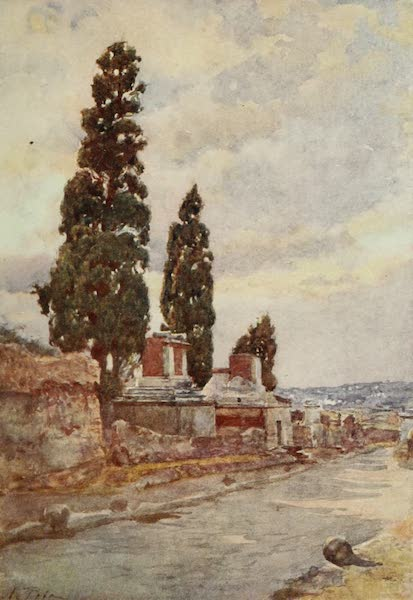 Pompeii, Painted and Described - The Street of Tombs (1910)